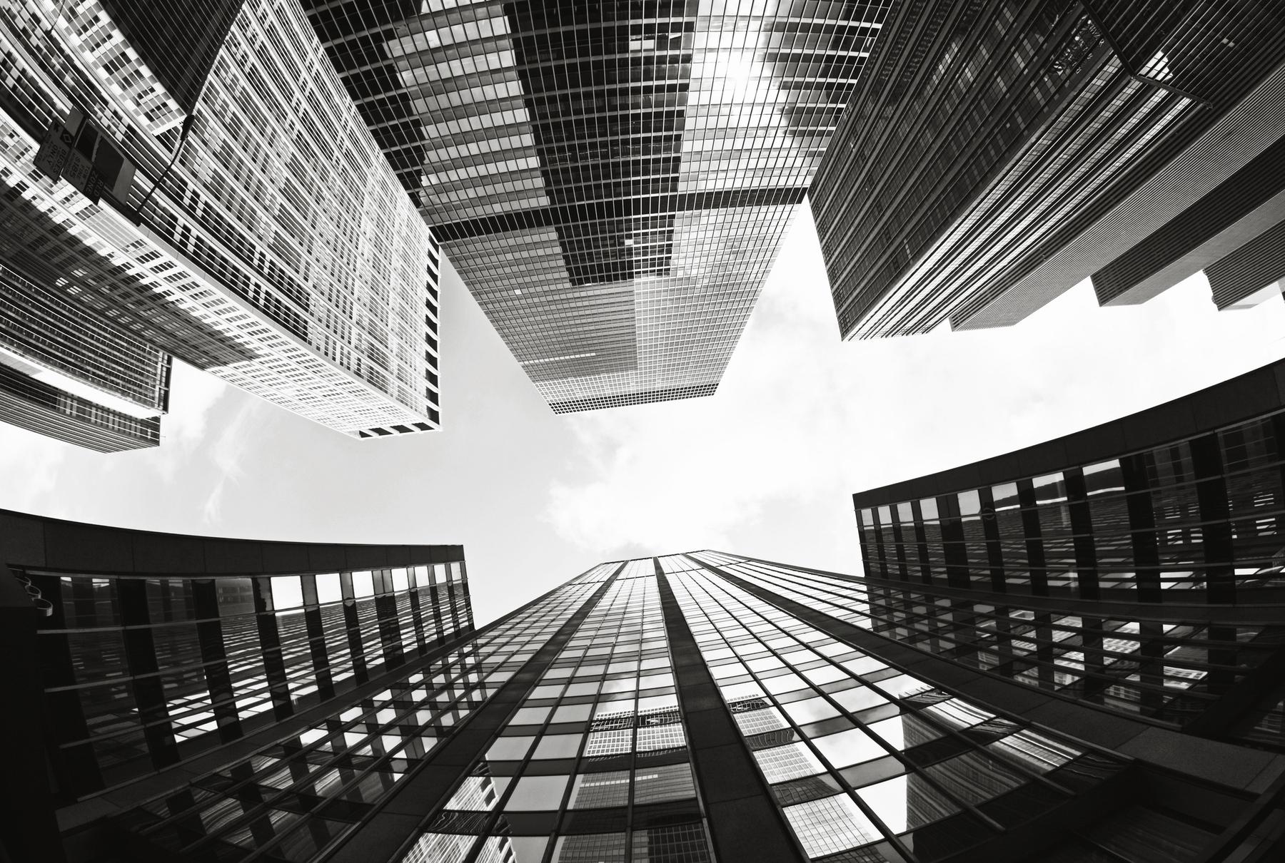 skyskrapor_svartvit_display - Xuez Project